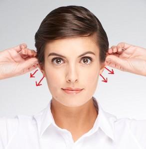 Ear Pull - Facial Massage