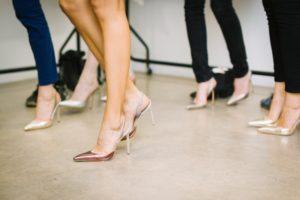 Feet in High Heels