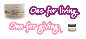 One for living, one for giving